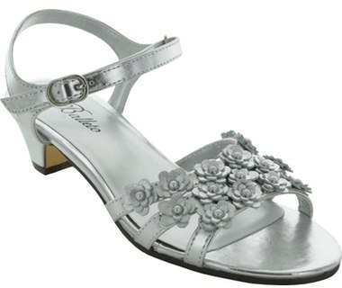 Jumping Jacks Girls Shimmer Quarter Strap Sandal