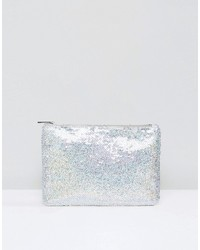 True Decadence Iridescent Sequin Clutch