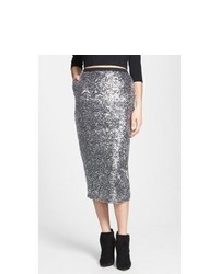 Leith Sequin Midi Skirt