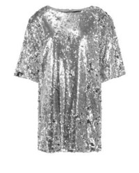Missguided Londunn Cocktail Dress Party Dress Silver