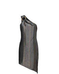 Haney Ophelia Silk Asymmetric Dress