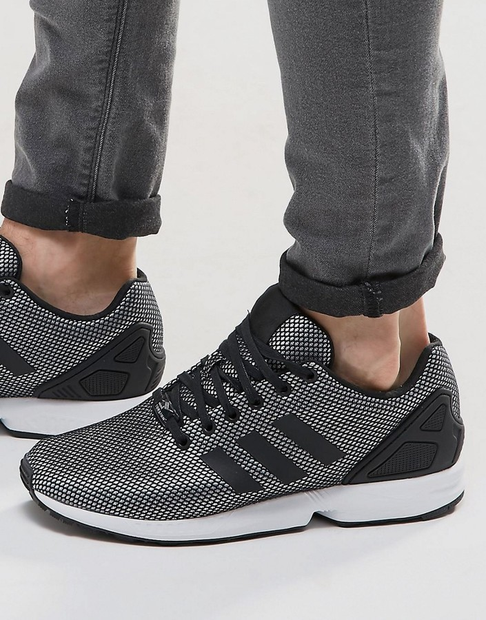c090281cca0 adidas Originals Zx Flux Sneakers In Silver S32276, £78 | Asos ...