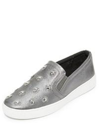 MICHAEL Michael Kors Michl Michl Kors Leo Starburst Slip On Sneakers