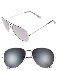 Topman 59mm Aviator Sunglasses