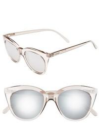 Le Specs Halfmoon Magic 51mm Cat Eye Sunglasses