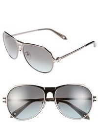 Givenchy Metal Aviator 57mm Sunglasses
