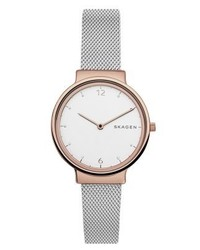 Ancher watch silver coloured medium 4124161