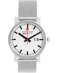 Evo big date stainless steel watch medium 358181
