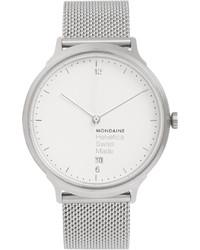 Mondaine Helvetica No1 Light Stainless Steel Watch