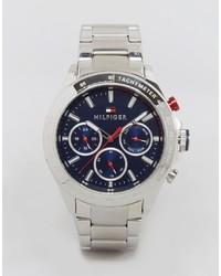 Tommy Hilfiger Hudson Silver Bracelet Watch 1791228