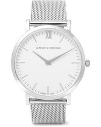Lugano silver plated watch one size medium 1126027