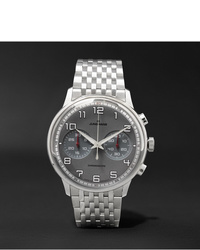 Junghans Meister Driver Chronoscope 40mm Stainless Steel Watch Ref No 027368644