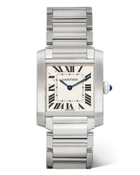 Cartier Tank Franaise Medium 2505mm Stainless Watch
