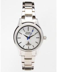 Vivienne Westwood Time Machine Silver Bracelet Watch Vv111sl