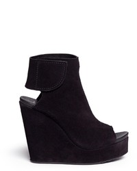 Suede wedge ankle boots original 9445208
