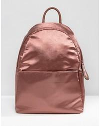 Glamorous Backpack In Satin Copper