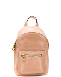 L'Autre Chose Embossed Logo Backpack
