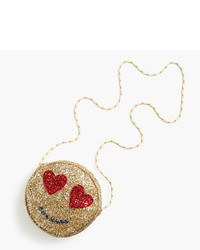 J.Crew Girls Glitter Emoji Bag