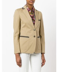 Etro Button Up Blazer
