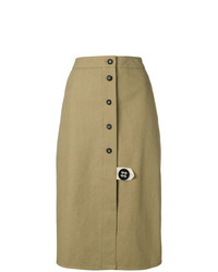 Walk Of Shame Front Buttoned Skirt