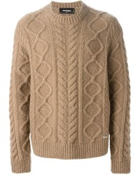 DSQUARED2 Cable Knit Sweater | Where to buy & how to wear