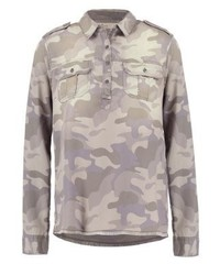 Hollister Co. Military Blouse Light Brown
