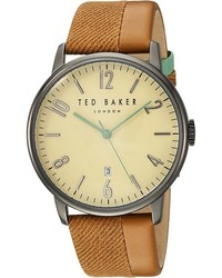 Tan Canvas Watch