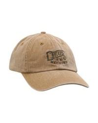 Weathered baseball cap washed tan medium 4162596