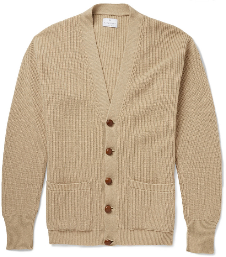 Kingsman Chunky Knit Cashmere Cardigan | Where to buy & how to wear