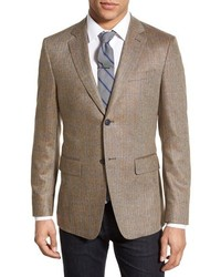Tan Check Blazer