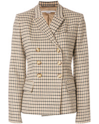 Stella McCartney Checked Double Breasted Jacket