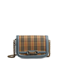 Burberry The 1983 Check Link Bag With Patent Trim