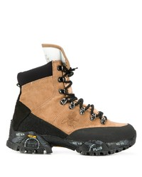 Premiata Two Tone Hiking Boots