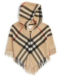 Burberry Girls Victoria Wool Cashmere Cape