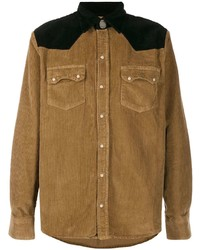 Family First Western Style Corduroy Shirt