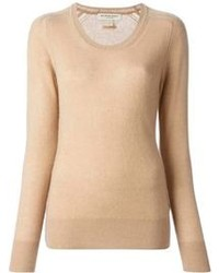 Tan Crew-neck Sweater