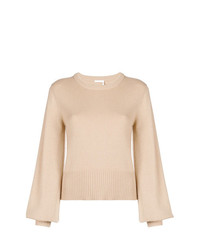 Chloé Puff Sleeve Sweater