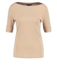 Ralph Lauren Benny Basic T Shirt Pale Wheat