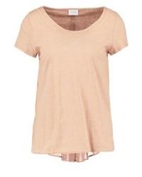 Viferma print t shirt rugby tan medium 3894280