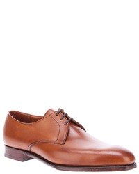 Tan derby shoes original 2409783