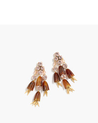 J.Crew Dahlia Drop Earrings
