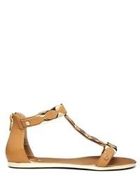 Jaffy nude flat sandals nude medium 73998