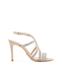 Schutz Embellished Sandals