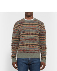 Polo Ralph Lauren Fair Isle Wool Blend Sweater | Where to buy ...