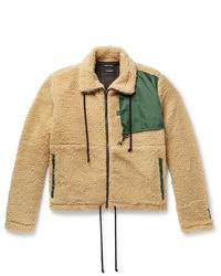 Reese Cooper®  Ripstop Trimmed Fleece Jacket