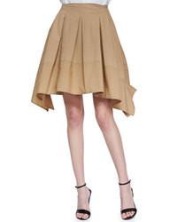 Tan Full Skirt