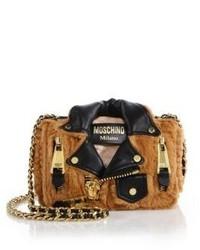 Tan Fur Crossbody Bag