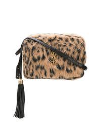 Saint Laurent Fur Shoulder Bag