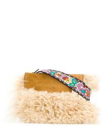 Etro Shearling Cross Body Bag