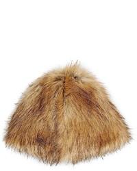 Tan Fur Hat